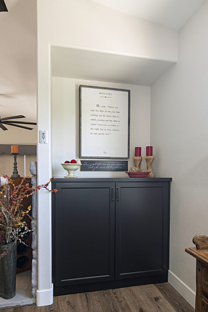 Recessed Wall Alcove Cabinet